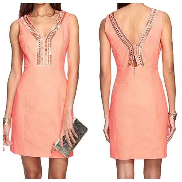6db8758dce59 Lilly Pulitzer Dresses   New Eliot Shift Papaya Dress Size 6   Poshmark